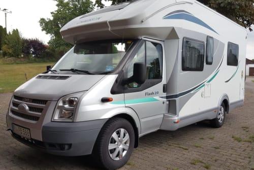 Wohnmobil mieten in Wangen im Allgäu von privat | Ford Transit Chauson   Wolke