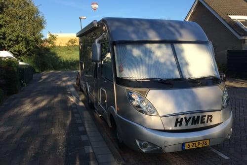 Wohnmobil mieten in Waddinxveen von privat   Hymer Luxe Hymer