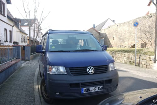 Wohnmobil mieten in Wachenheim an der Weinstraße von privat | VW T5 TDI Campmobil
