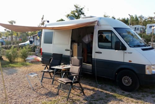 Wohnmobil mieten in Ahausen von privat | VW LT Das Wohnzimmer
