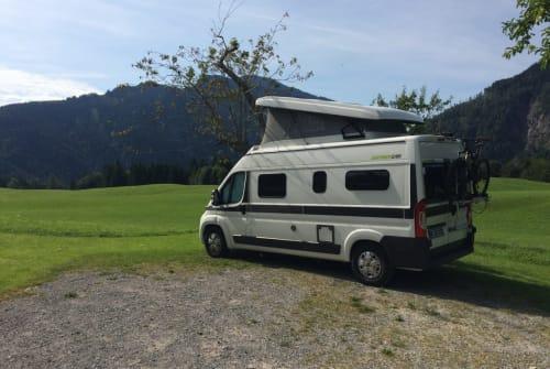 Wohnmobil mieten in München von privat | Hymer Samy