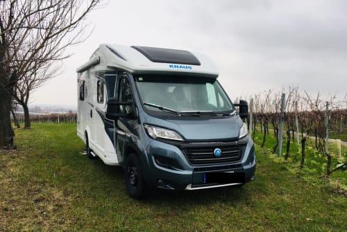 Wohnmobil mieten in Landau in der Pfalz von privat   Knaus Ginbie