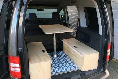 Wohnmobil mieten in Ahrensburg von privat | Volkswagen Eddy the Caddy