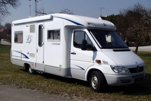 Wohnmobil mieten in Eching am Ammersee von privat | Bürstner Strolchi