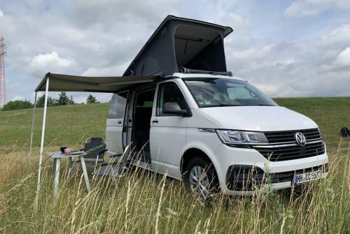 Wohnmobil mieten in Leinefelde-Worbis von privat | VW Muh Hirsch
