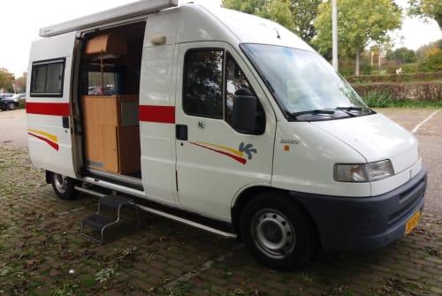 Wohnmobil mieten in Amstelveen von privat   fiat ducato 14 Grand  volume  Handzamecamper