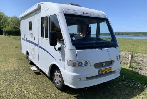Wohnmobil mieten in Kloetinge von privat   Fiat Integraal Dethleffs Camper Dethleffs 630
