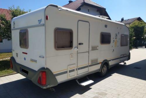 Wohnmobil mieten in Luhe-Wildenau von privat | Knaus Edda