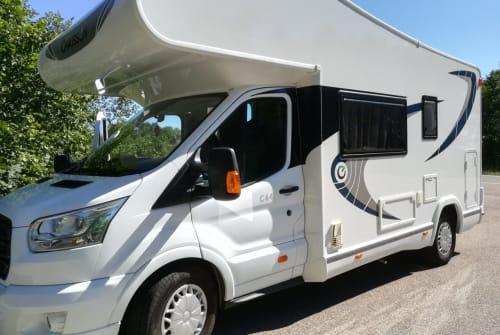 Wohnmobil mieten in Schrobenhausen von privat   Chausson Wolkie *new*