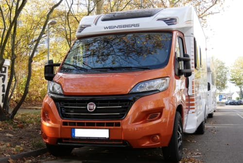 Wohnmobil mieten in Tamm von privat   Weinsberg Carasuite IC