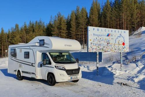 Wohnmobil mieten in Uelzen von privat | Hymer Etrusco  Karlchen