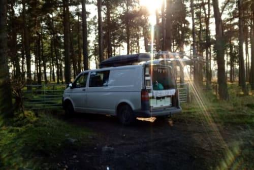 Wohnmobil mieten in Stralsund von privat   VW Gluecksbus