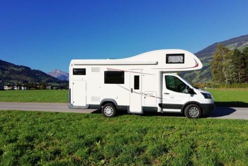 Wohnmobil mieten in Buch in Tirol von privat   Roller Team  Roll Nicki