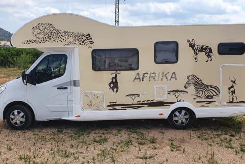 Wohnmobil mieten in Weiterstadt von privat | Renault Dogs-Hörnchen