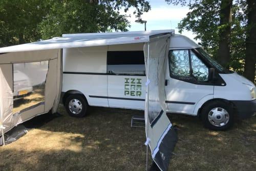 Wohnmobil mieten in Purmerend von privat | Ford IZI Camper