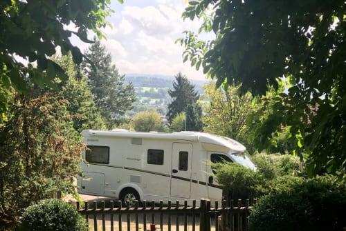 Wohnmobil mieten in Schotten von privat   Dethleffs Advantage Camper