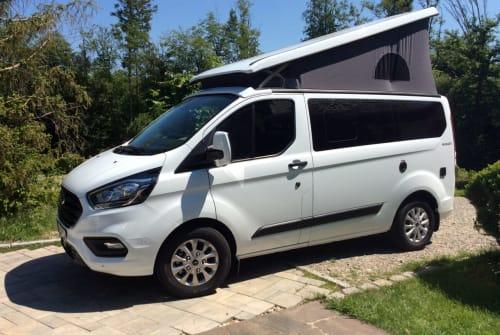 Wohnmobil mieten in Volkertshausen von privat | Nugget Transit Custom Nugget to go