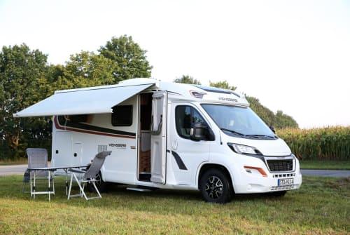 Wohnmobil mieten in Harsefeld von privat | Weinsberg Betty