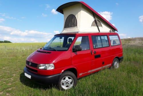 Wohnmobil mieten in Dresden von privat | VW T4 Manni