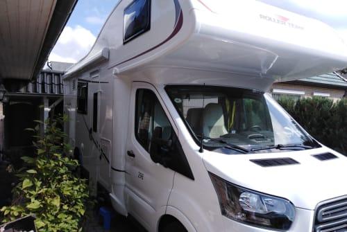 Wohnmobil mieten in Kellinghusen von privat | Roller Team Holgi