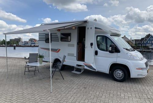 Wohnmobil mieten in Huizen von privat | Fiat Luxe Camper
