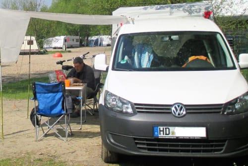 Wohnmobil mieten in Schriesheim von privat   VW Caddy