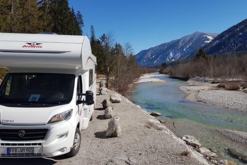 Wohnmobil mieten in Germering von privat | Dethleffs  Glücksmobil