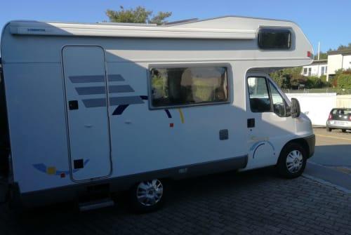 Wohnmobil mieten in Weingarten von privat | Hymer  Hymilein