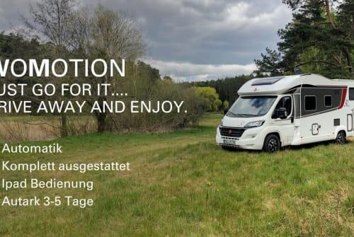 Wohnmobil mieten in Bernau bei Berlin von privat   Bürstner WoMotion