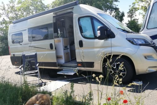Wohnmobil mieten in Pfungstadt von privat | KARMANN Mobil Champus