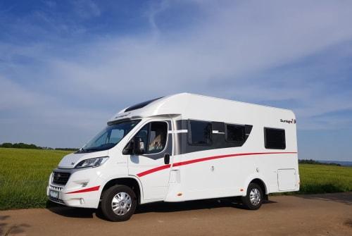 Wohnmobil mieten in Abenberg von privat | Sunlight Oskar on tour
