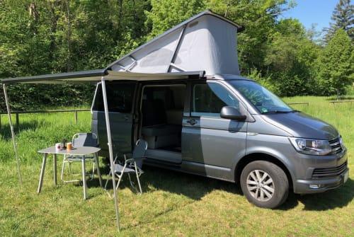 Wohnmobil mieten in Mössingen von privat | VW T6 Cali T6
