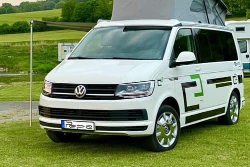 Wohnmobil mieten in Wolfenbüttel von privat   Volkswagen T6 Bulli Pepe