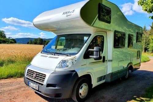 Wohnmobil mieten in Porta Westfalica von privat | Knaus Gonzo