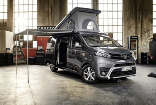 Wohnmobil mieten in Kelsterbach von privat | Toyota Tony