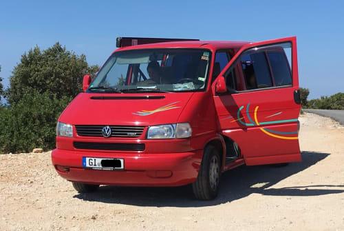 Wohnmobil mieten in Linden von privat | VW T4  yippieyayeahBus