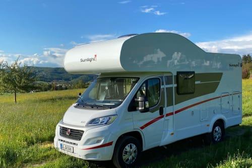 Wohnmobil mieten in Darmstadt von privat | Sunlight Sunlight A60