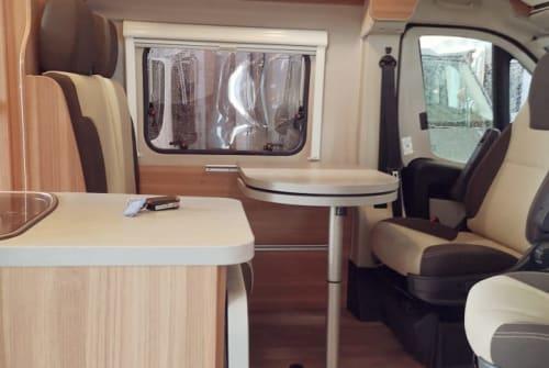 Wohnmobil mieten in Burkardroth von privat | Fiat Ducato Black Cara
