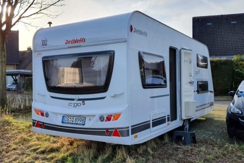 Wohnmobil mieten in Georgsmarienhütte von privat | Dethleffs Hubert C'Go Up