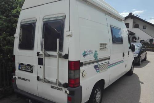 Wohnmobil mieten in Vilgertshofen von privat | Peugeot J5 Pössele+Ebikes
