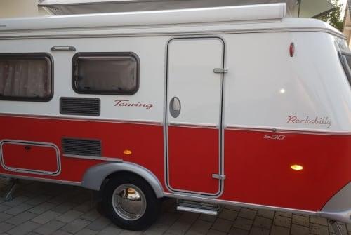 Wohnmobil mieten in Bad Grönenbach von privat   Eriba Rockabilly