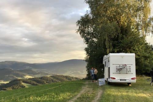 Wohnmobil mieten in Staufen im Breisgau von privat | Eura Mobil Hörbe