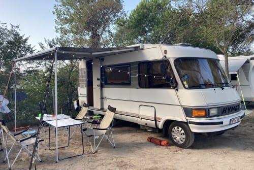 Wohnmobil mieten in Klagenfurt am Wörthersee von privat   Hymer Hymi