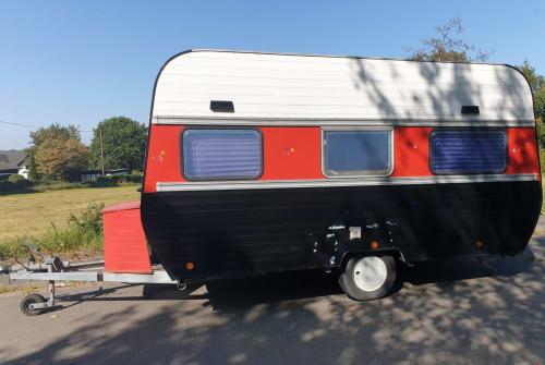 Wohnmobil mieten in Nümbrecht von privat | Corsar Wohnwagenbau  Hippie Happy