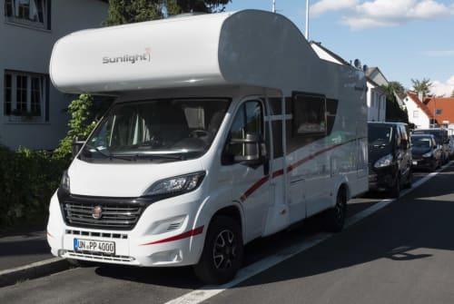 Wohnmobil mieten in Kamen von privat | Sunlight Bommel4000