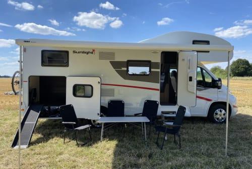 Wohnmobil mieten in Hassel von privat | Sunlight Camper mit Hund