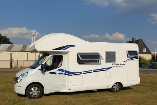 Wohnmobil mieten in Westerhorn von privat | xgo  Urlaubswunder