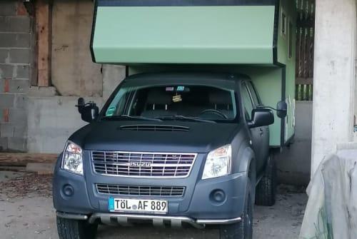 Wohnmobil mieten in Schlehdorf von privat   Bimobil auf ISUZU DMAX  Husky
