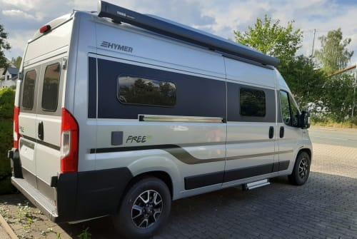 Wohnmobil mieten in Lengenfeld von privat | FIAT Hymer Free  AUGUST