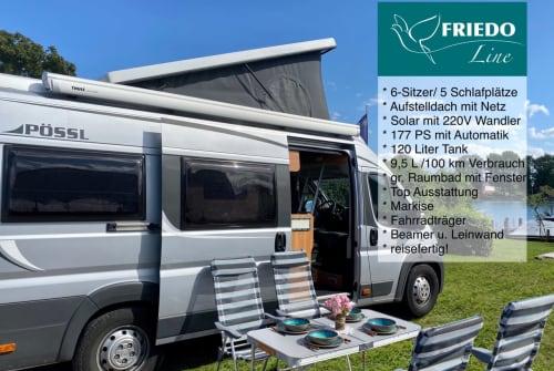 Wohnmobil mieten in Konstanz von privat | Pössl Friedo-Line